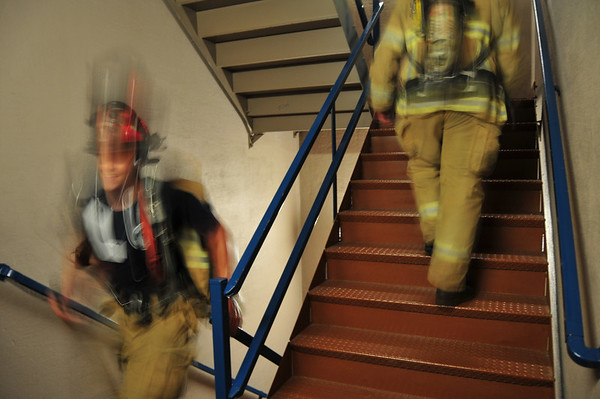 Metro firefighters climb our stairs each year on 9/11.