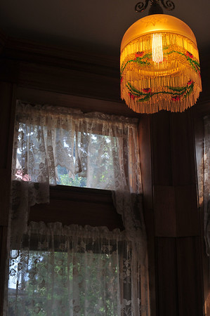 beaded lampshade