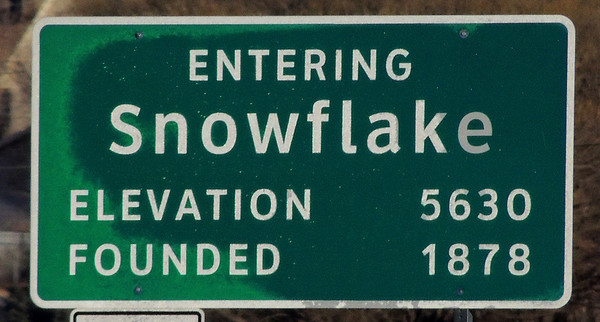 The Town of Snowflake