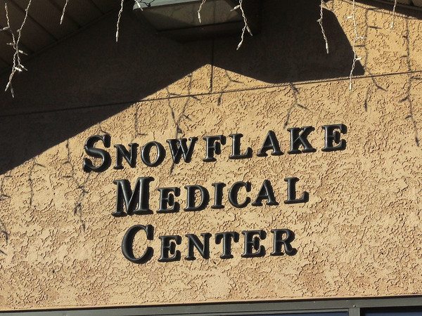 Where broken snowflakes go to recover...