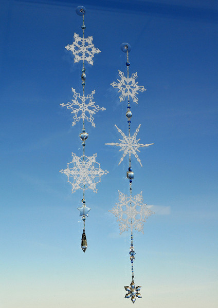 Ane Scherrer's Beaded Snowflake Ornaments