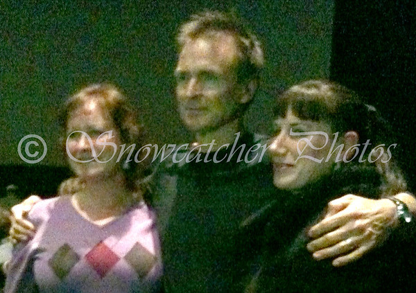 Phil Keoghan and two women with MS