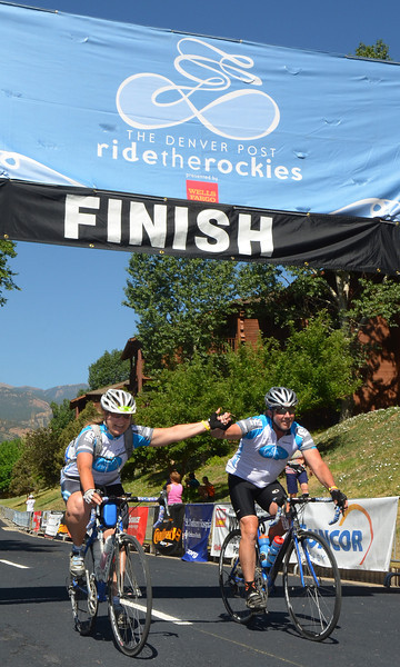 2013 Ride the Rockies Finish Line