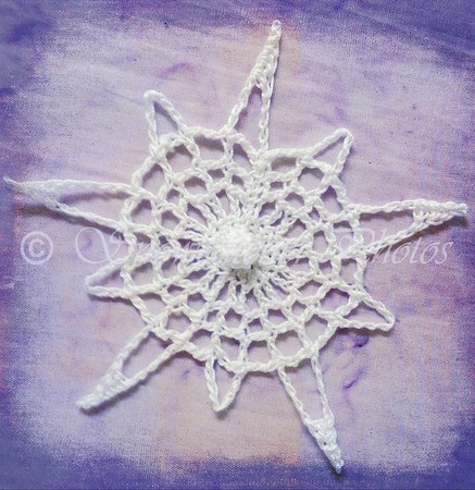 Autumn Snowflake Star
