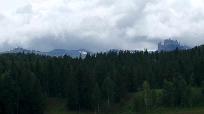The Castles, West Elk Mountains, Colorado