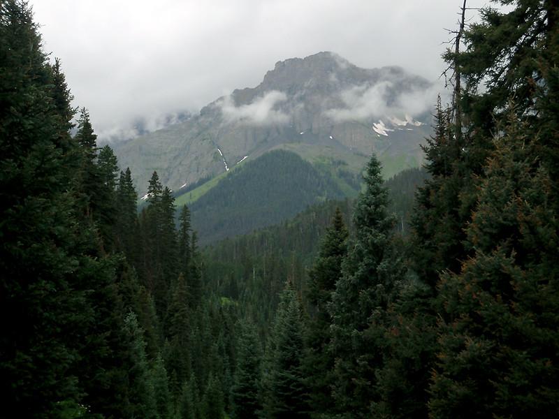 13,041-foot Mount Wolcott, San Juan Mountains, Colorado