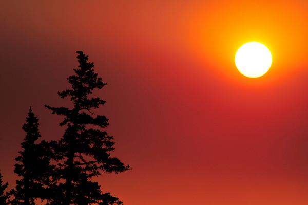 fire-enhanced sunrise
