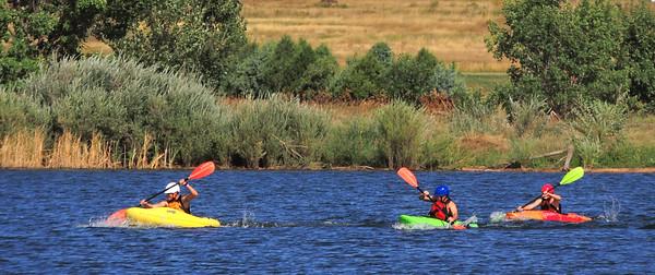 paddleboats